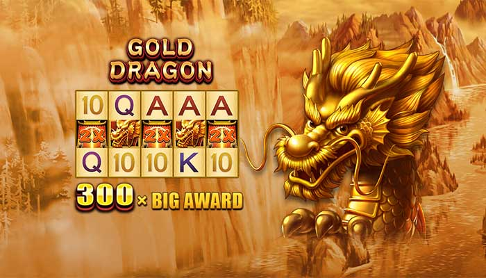 gold dragon thumb